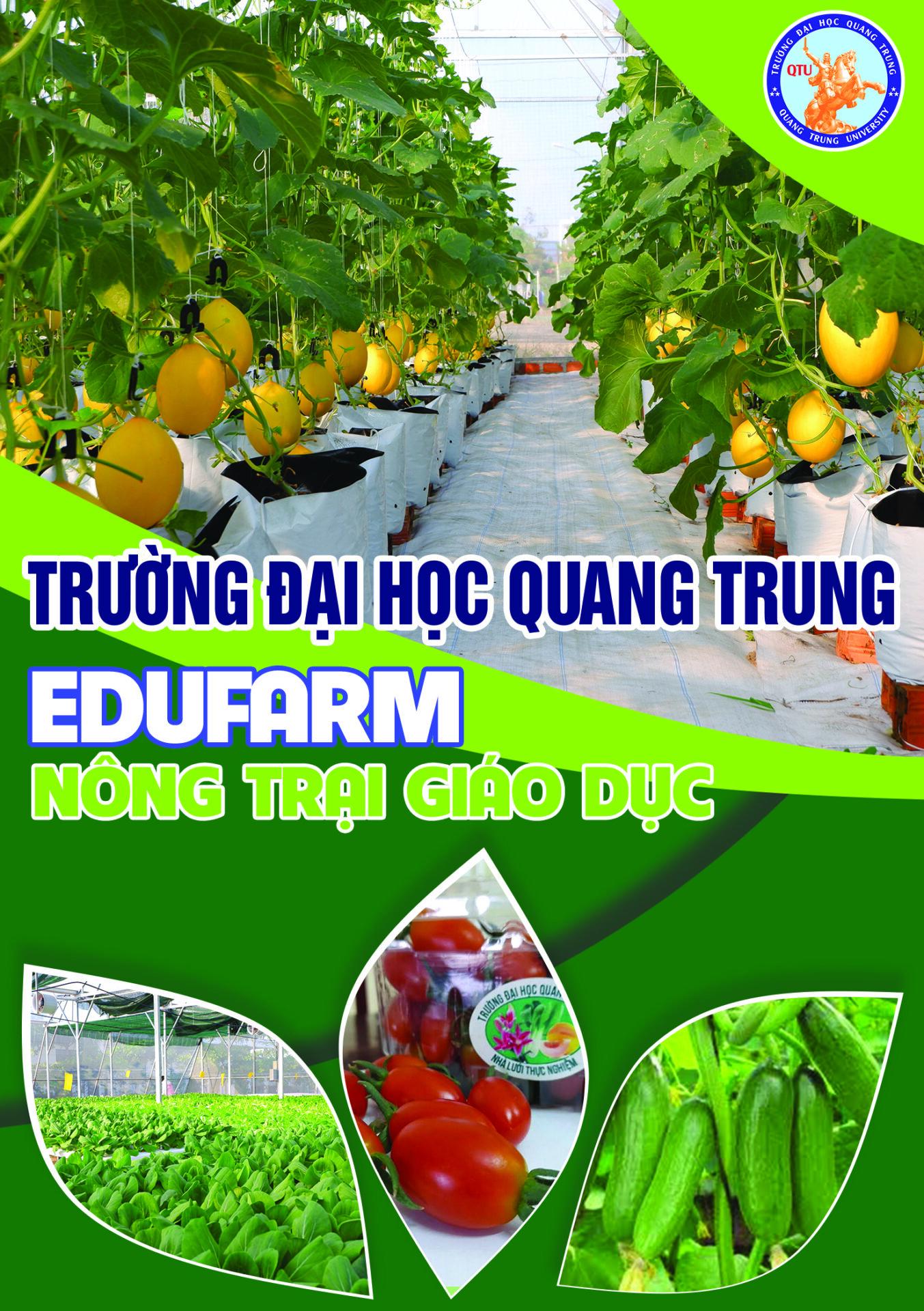 Trải nghiệm thú vị cùng EduFarm - Trường ĐH Quang Trung