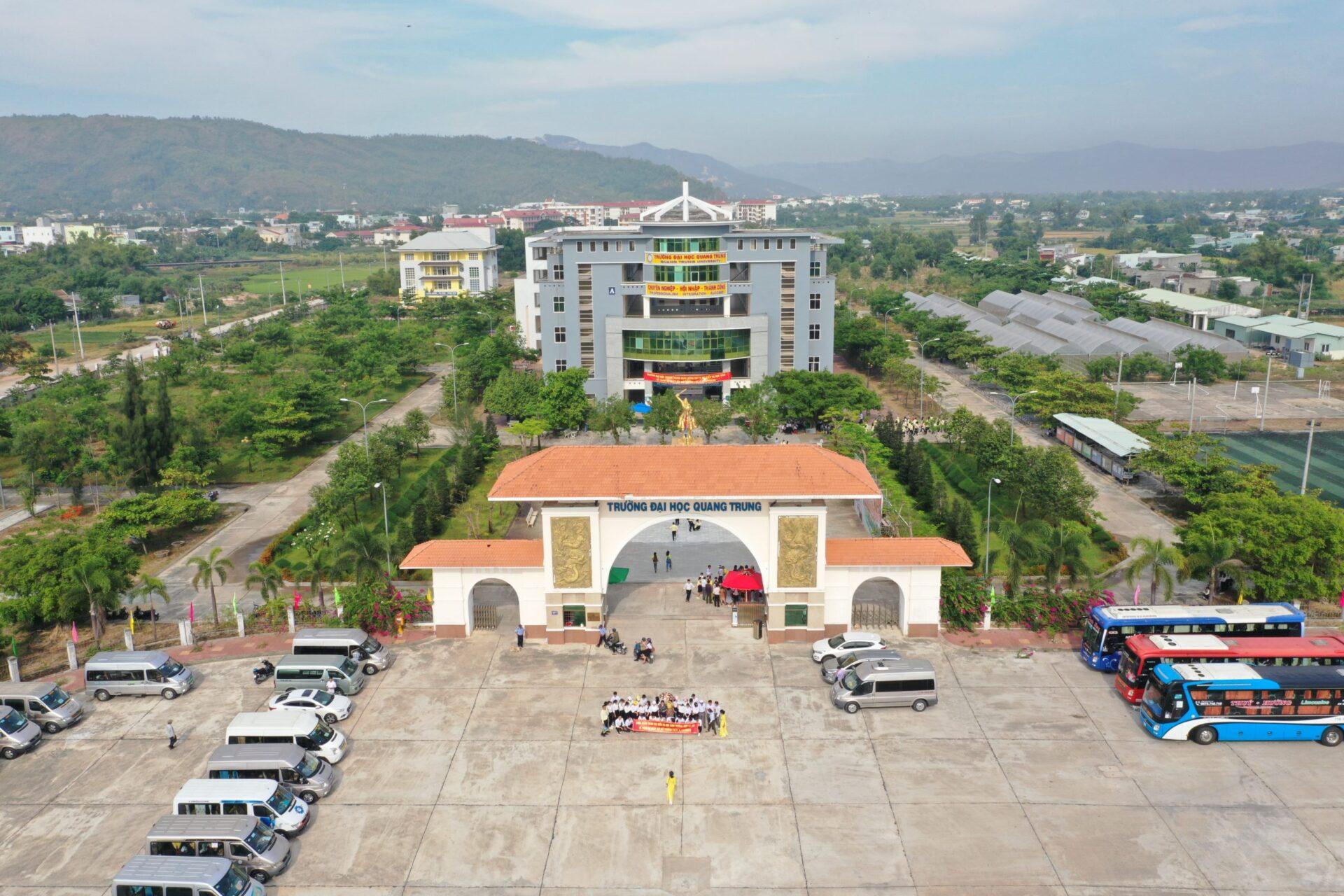 Trường ĐH Quang Trung: Nhiều ưu đãi kỳ tuyển sinh năm 2021