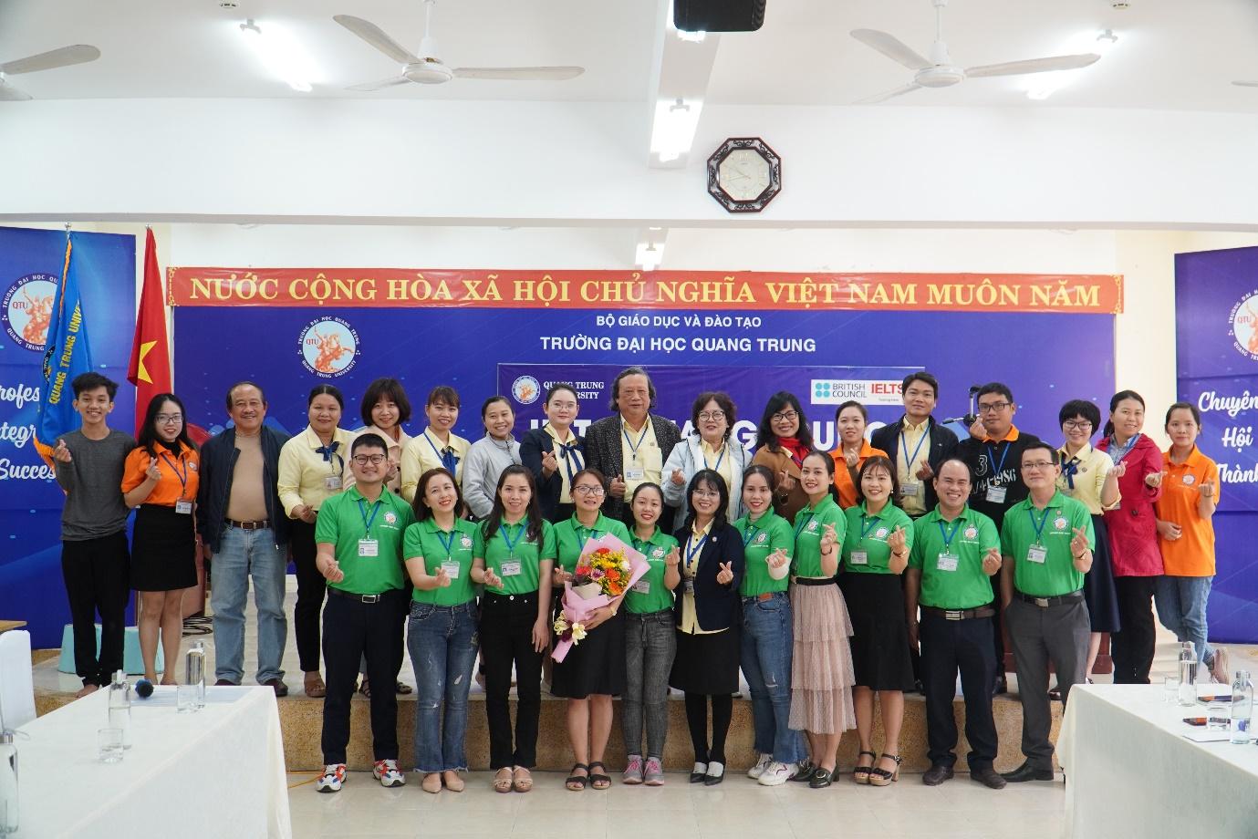 Lễ ra mắt Câu lạc bộ Du lịch – Trường Đại học Quang Trung