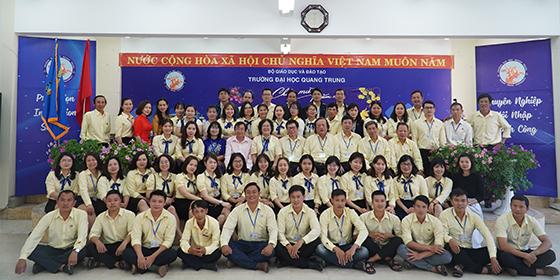 QTU -  Trường Đại học Quang Trung tổ chức họp mặt đầu năm  Tân Sửu.