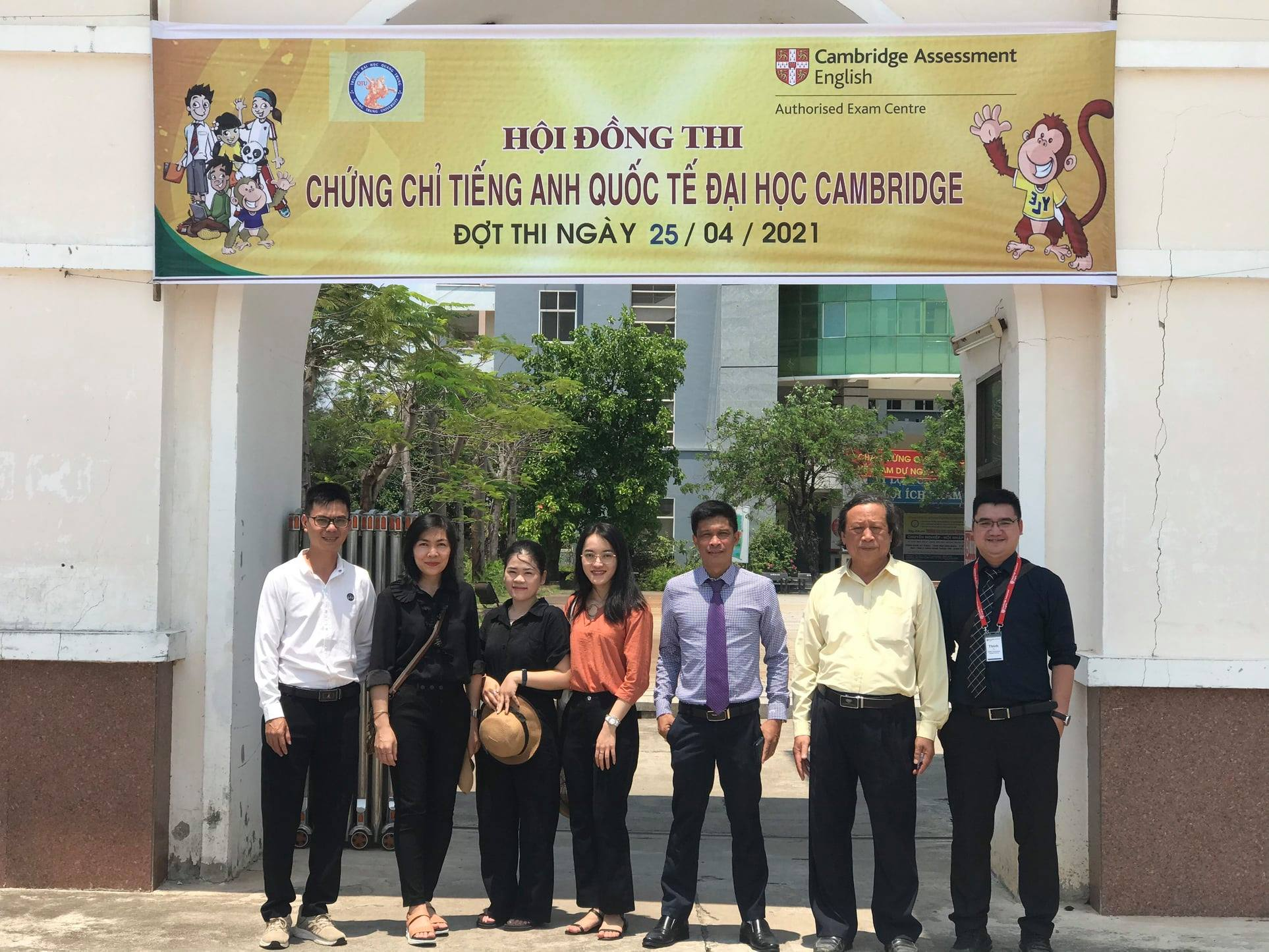 Trường ĐH Quang Trung: Địa điểm đăng ký và khảo thí kỳ thi Cambridge ở khu vực miền Trung