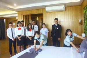 Sinh viên thực hành tại Khách sạn Hoàng Yến – Quy Nhơn