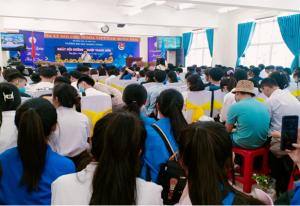 ĐH Quang Trung phối hợp với Tỉnh Đoàn Bình Định tổ chức Ngày hội Hướng nghiệp Thanh niên
