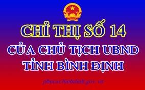 Công văn số 55/ĐHQT ngày 31/7/2021 về việc thực hiện Chỉ thị số 14/CT-UBND của UBND tỉnh Bình Định