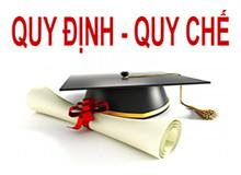 Quyết định số 95/QĐ-ĐHQT về việc ban hành quy định về Công tác học vụ tại Trường Đại học Quang Trung